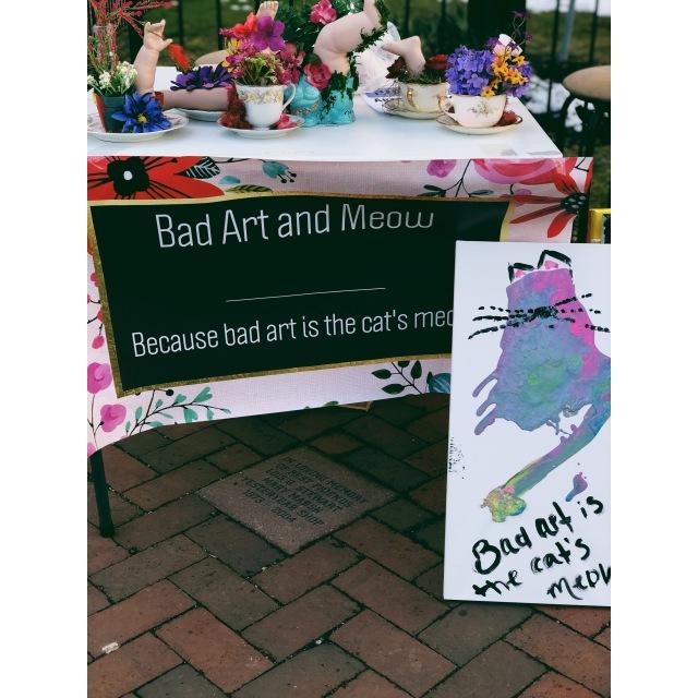 bad art cat