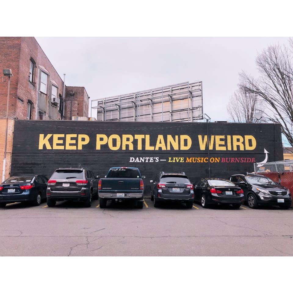 keep portland weird,