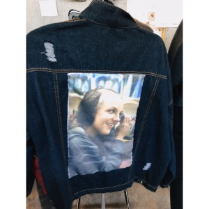 Britney Spears denim jacket Trenton Punk Rock Fleamarket NJ