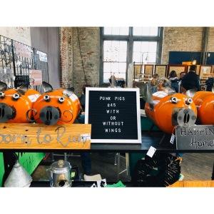 Moschera Metal Shop Pigs Trenton Punk Rock Fleamarket, NJ