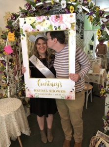 Courtney Dercqu bridal shower