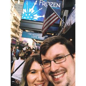 Frozen on Broadway New York