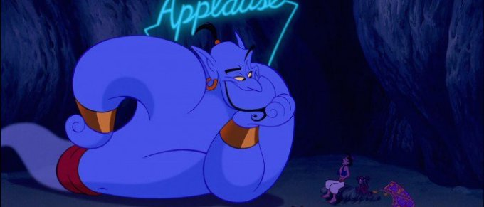 The Genie Aladdin